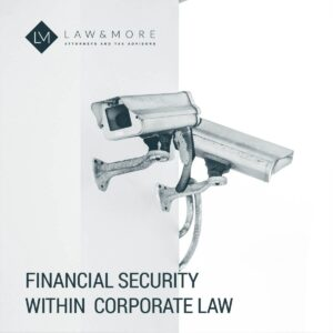 Financial security within corporate law 1X1