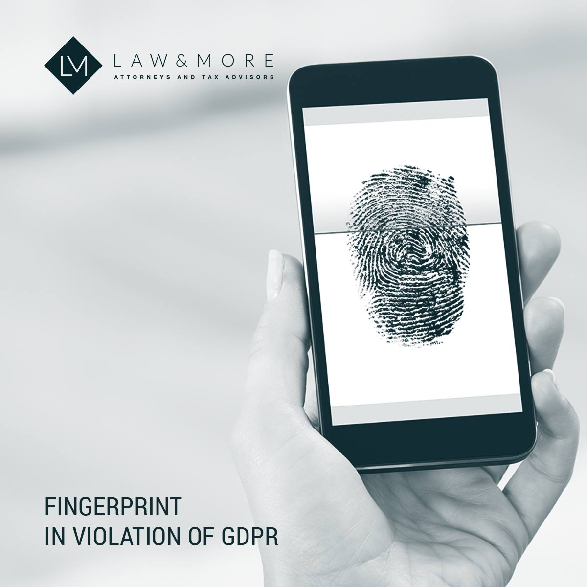 Fingerprint in violation of GDPR Image 1x1